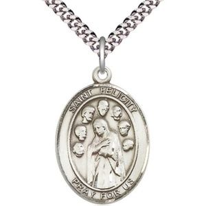 Jewelry - Sterling Silver St Felicity Pendant